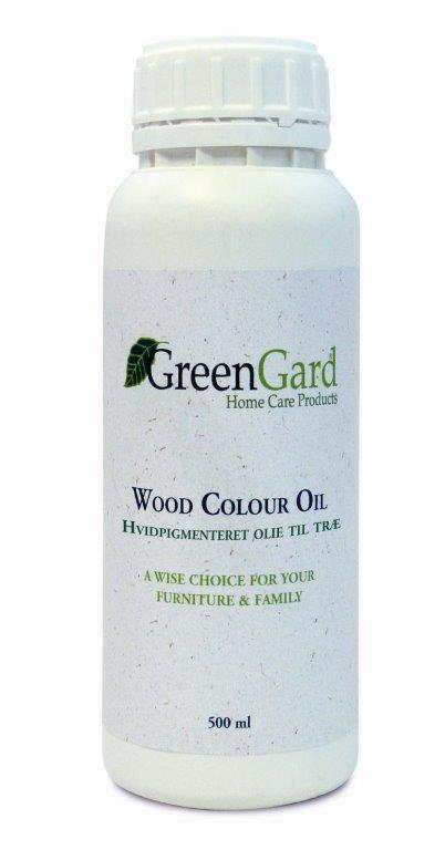 N/A Greengard træolie hvidpigment 500 ml på unoliving.com