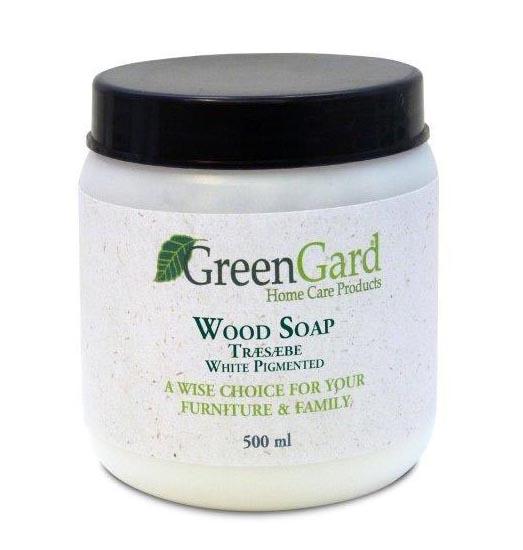 Greengard træsæbe hvidpigment 500 ml fra N/A fra unoliving.com