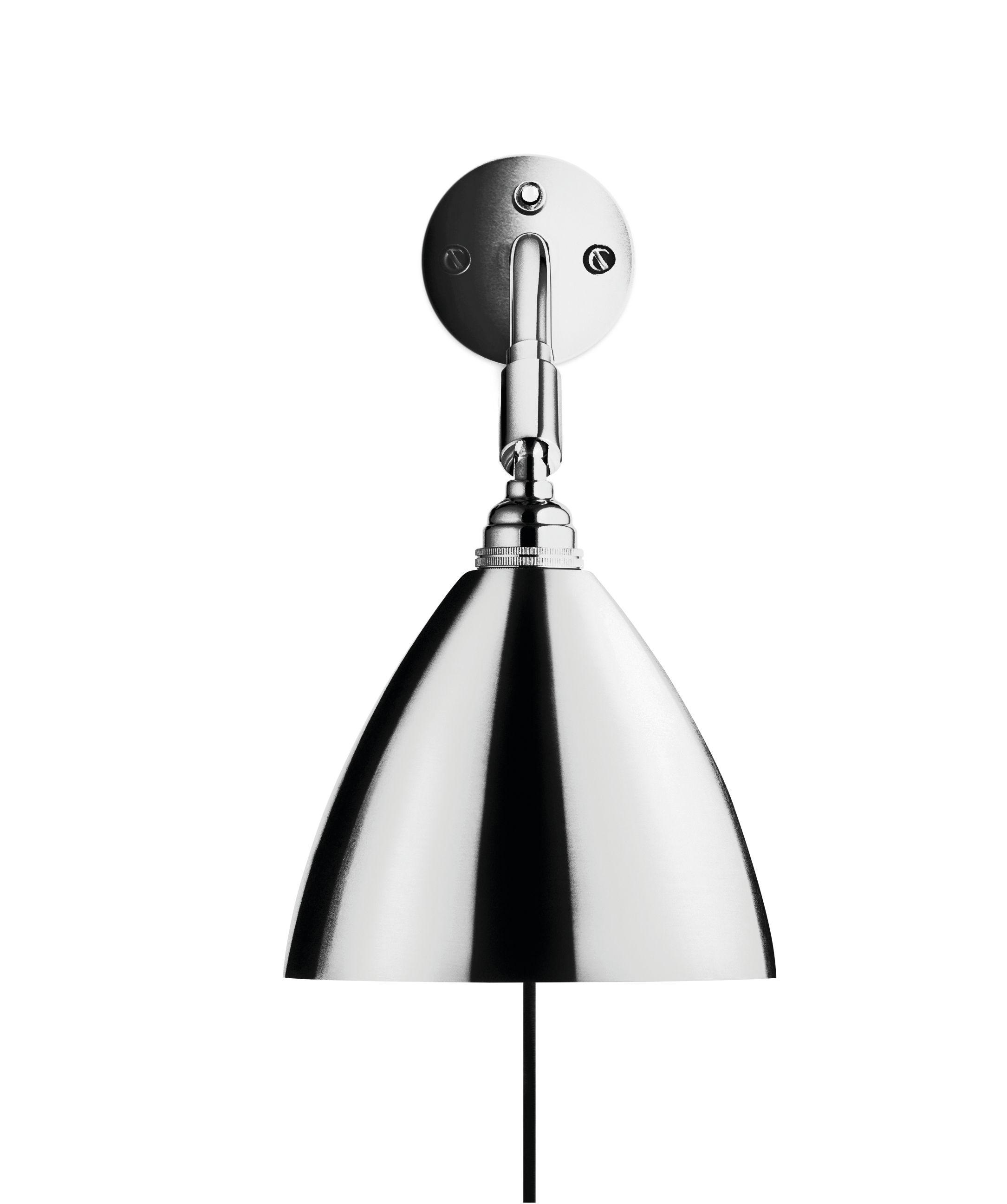Gubi Gubi - bestlite - bl7 væglampe - ø16 krom på unoliving.com