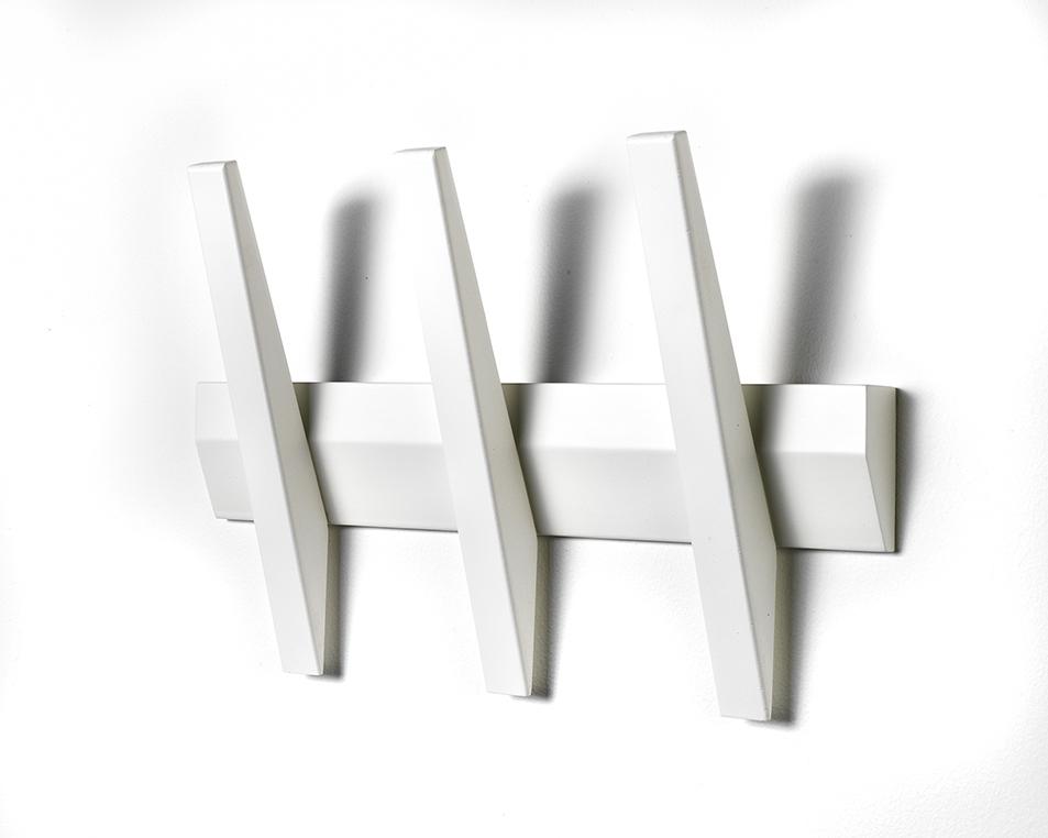 N/A – Tangent 3  knagerække - hvid på unoliving.com