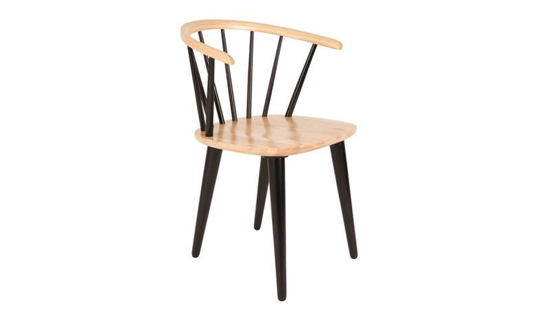 N/A Homii spisebordsstol - sort på unoliving.com