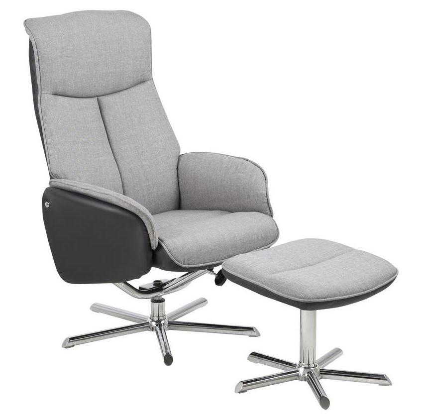 Silje hvilestol - grå fra N/A fra unoliving.com