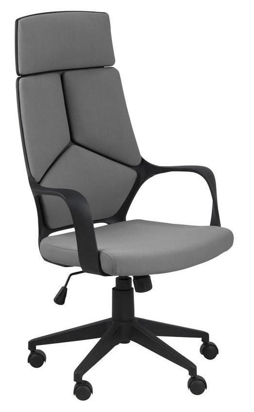 N/A – Jura kontorstol - grå - høj ryg fra unoliving.com