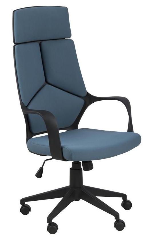 N/A Jura kontorstol - blå - høj ryg på unoliving.com