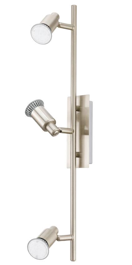 N/A – Eridan led stål loftlampe m. 3 spots fra unoliving.com