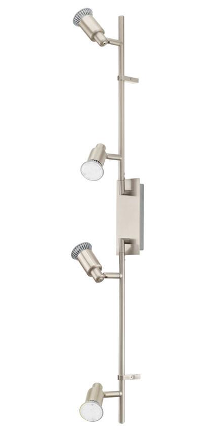 N/A – Eridan led stål loftlampe m. 4 spots på unoliving.com