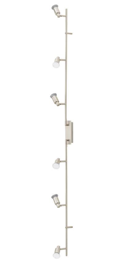 Eridan led stål loftlampe m.6 spots fra N/A fra unoliving.com