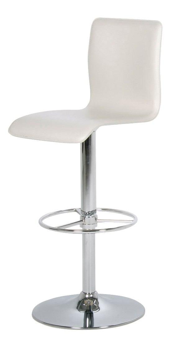Lounge barstol - hvid fra N/A fra unoliving.com