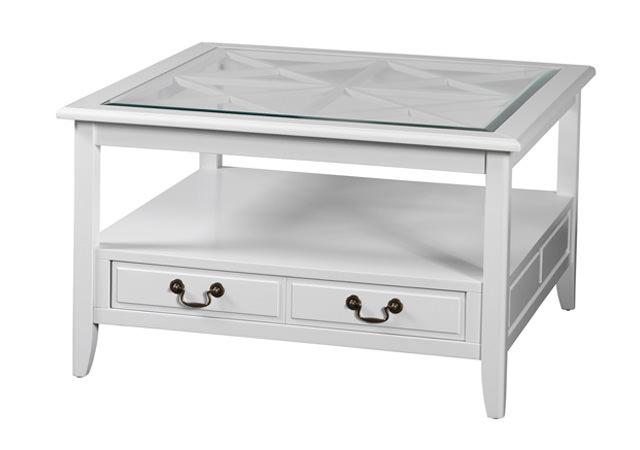 N/A – Maine sofabord - hvid - 85x85 på unoliving.com