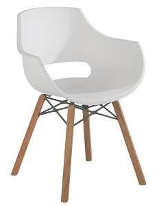 Muubs - opal iroco mat spisebordsstol - hvid fra Muubs fra unoliving.com