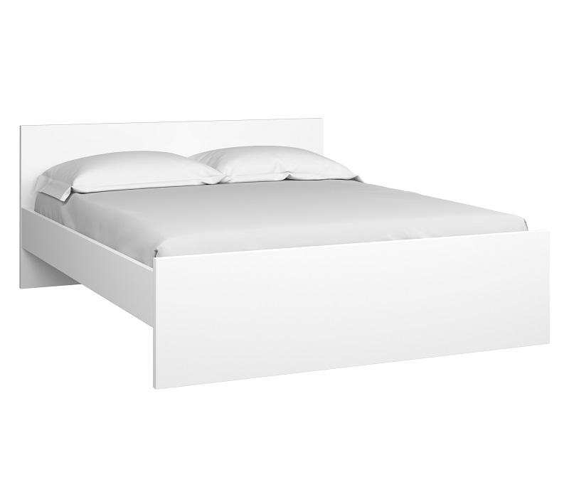 N/A – Naia seng  - hvid højglans - 160x200cm på unoliving.com
