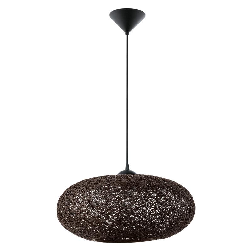 N/A Campilo pendel i mørk brunt garn på unoliving.com