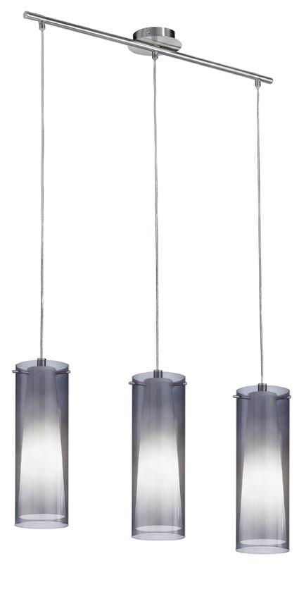 Pinto nero loftslampe m. 3 pendler - sort fra N/A på unoliving.com
