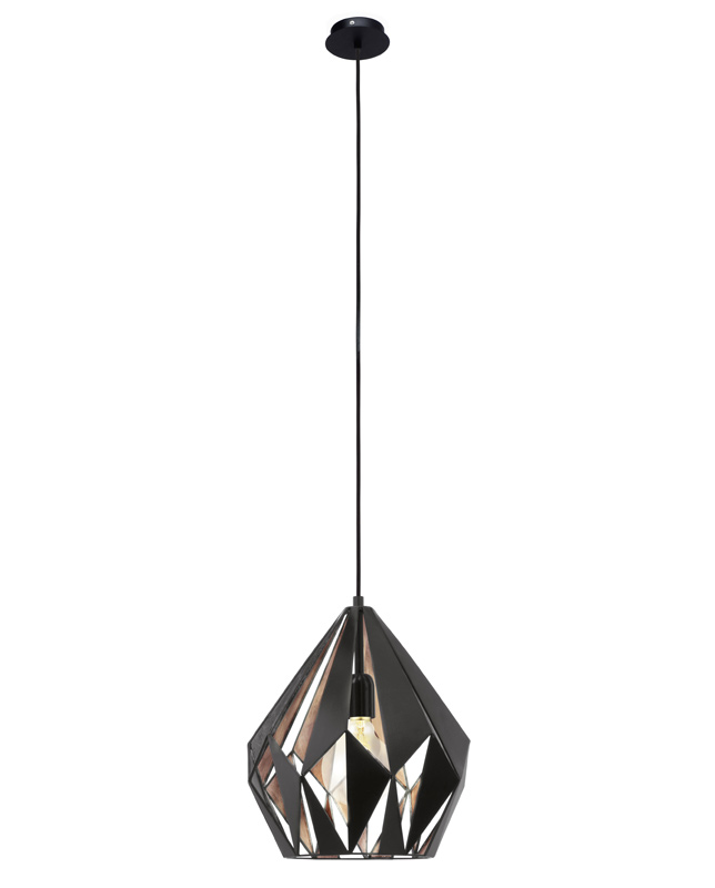 N/A Triangle pendel - sort metal - ø31 på unoliving.com