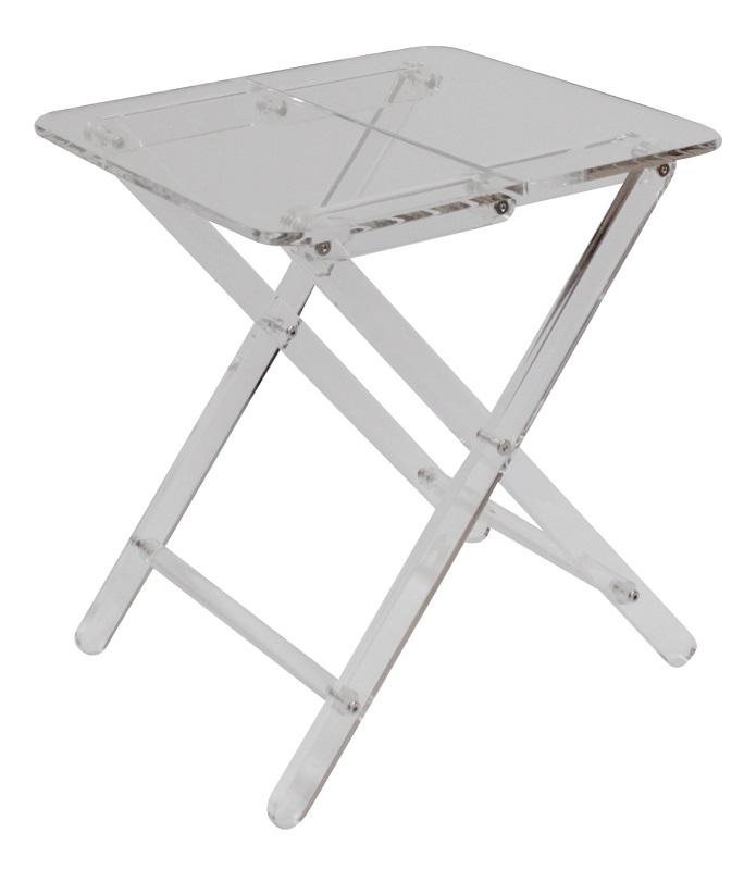 Canett – Canett fogy sidebord - klar akryl - 40x40 på unoliving.com