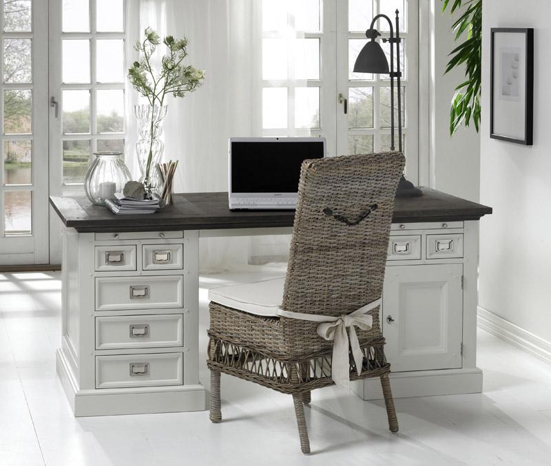 Canett – Canett hamptons skrivebord - grå på unoliving.com