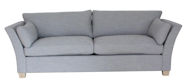 Mossley 3-pers. sofa - grå stof fra N/A på unoliving.com