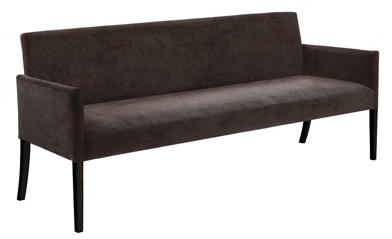 Canett Canett avery - 180 cm sofabænk - brun stof fra unoliving.com