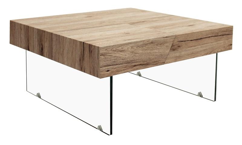 Canett seattle sofabord m. udtræk - glas ben fra Canett på unoliving.com
