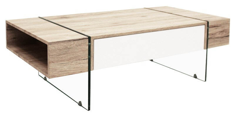 Canett – Canett seattle sofabord m. hvid skuffe på unoliving.com