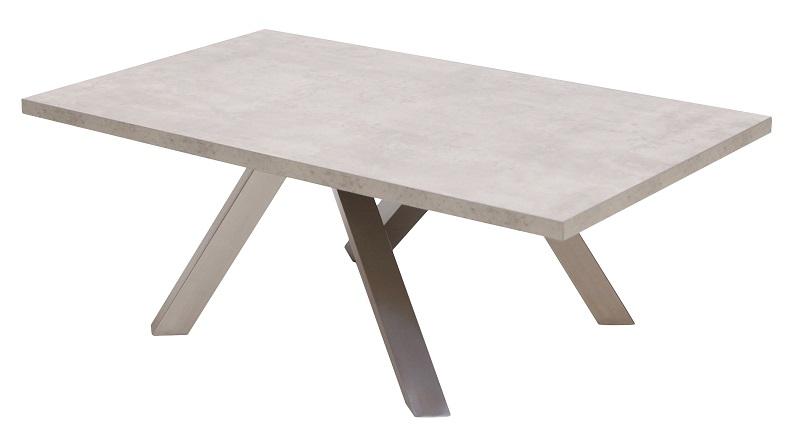 Canett – Canett onyx sofabord - grå betonlook - 120x70 fra unoliving.com