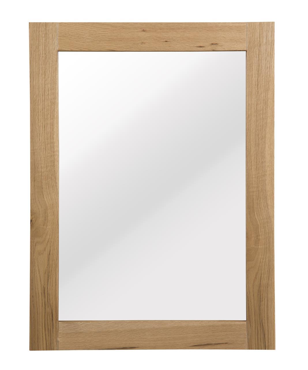 N/A Aloha spejl - lakeret egefinér fra unoliving.com