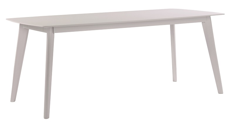Eliana spisebord - hvidlakeret træ - 190 fra N/A fra unoliving.com