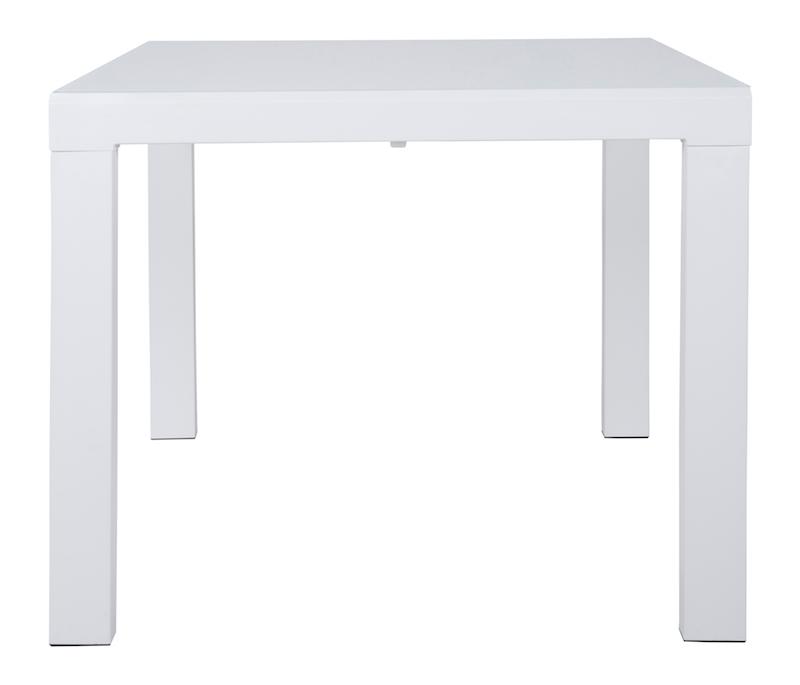 Canett – Lissabon spisebord 90x90 - hvid fra unoliving.com