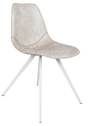 Canett – Canett laura spisebordsstol - lys microfiber fra unoliving.com