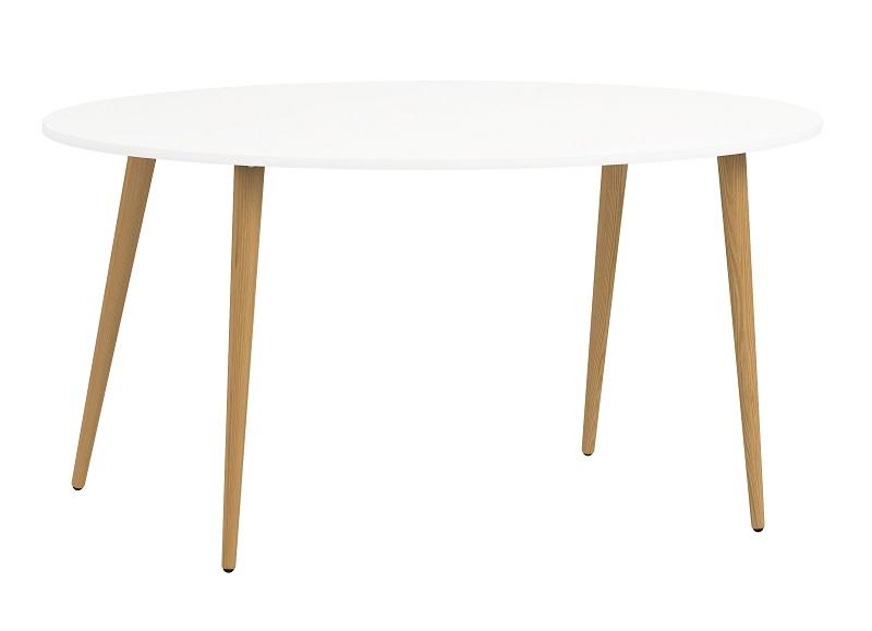 N/A Delta spisebord - hvid - 160 cm på unoliving.com