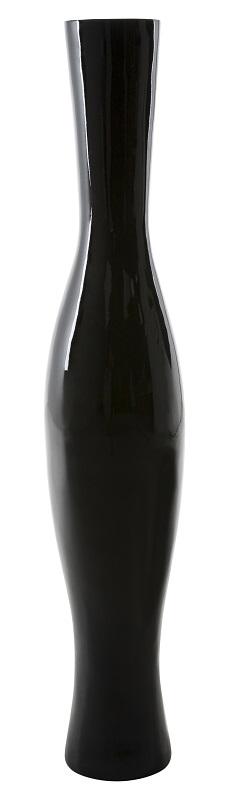 Canett resta  vase - sort glasfiber - h:126 fra Canett fra unoliving.com