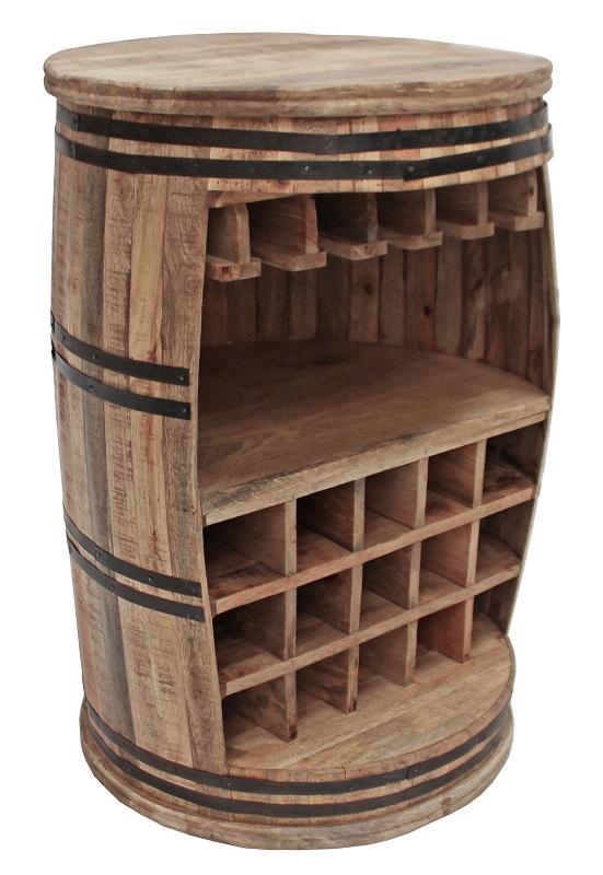 Canett – Apart vintønde - barbord i træ fra unoliving.com