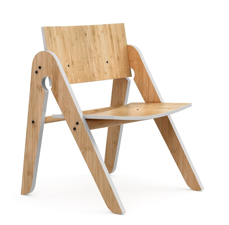 We do wood lilly´s børnestol - bambus fra We do wood på unoliving.com
