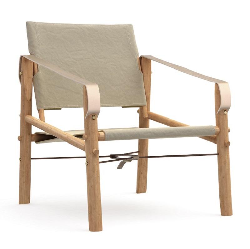 We do wood nomad loungestol - beige fra We do wood fra unoliving.com