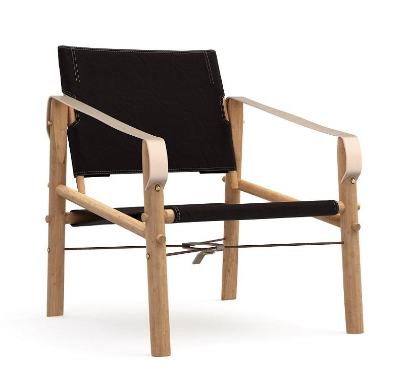 We do wood nomad loungestol - sort fra We do wood på unoliving.com