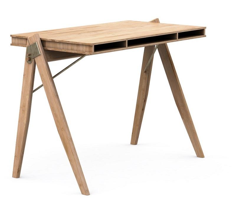 We do wood field skrivebord - bambus fra We do wood fra unoliving.com