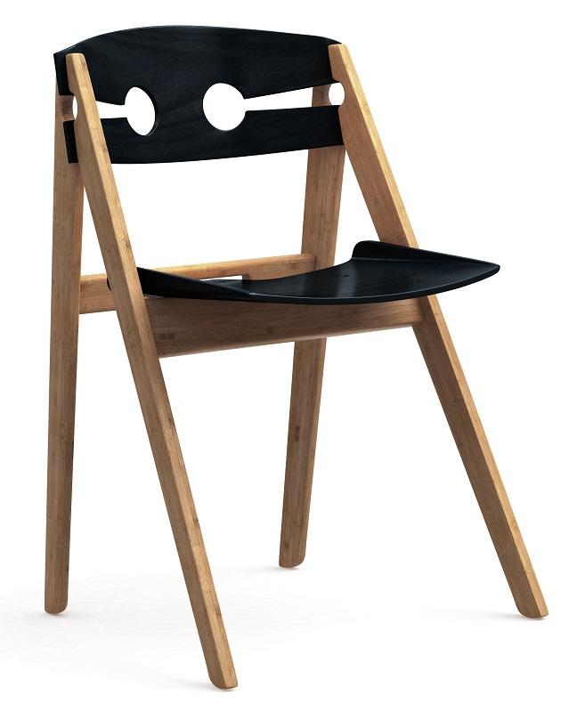 We do wood – We do wood spisebordsstol - sort på unoliving.com